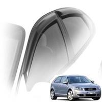 Дефлекторы на окна Cobra Tuning для Audi A3 II кузов 8P (3 двери) 2003-2012 г.в.