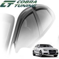 Дефлекторы на окна Cobra Tuning для Audi A3 III кузов 8V (седан) 2012-...г.в.