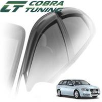 Дефлекторы на окна Cobra Tuning для Audi A4 II/III кузов 8Е,B6\B7 (универсал) 2000-2008 г.в.
