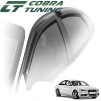 Дефлекторы на окна Cobra Tuning для Audi A4 IV кузов 8K,B8 (седан) 2008-...г.в.