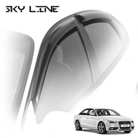 Дефлекторы на окна Sky Line для Audi A4 IV кузов 8K,B8 (седан) 2008-...г.в.