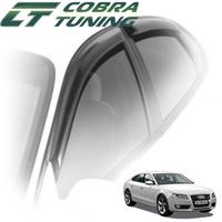 Дефлекторы на окна Cobra Tuning для Audi A5 Sportback 5-дверей 2008-...г.в.