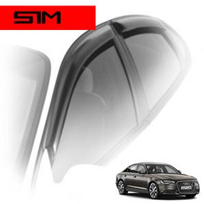 Дефлекторы на окна SIM для Audi A6 IV кузов 4G,C7 (седан) 2011-...г.в.