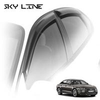 Дефлекторы на окна Sky Line для Audi A6 IV кузов 4G,C7 (седан) 2011-...г.в.