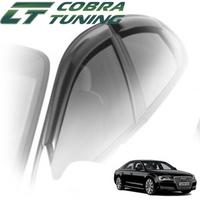 Дефлекторы на окна Cobra Tuning для Audi A8 III кузов D4 (седан) 2010-...г.в.