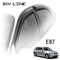 Дефлекторы на окна Sky Line для BMW 1-E87 (5-дверей) 2004-2012 г.в.