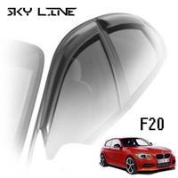 Дефлекторы на окна Sky Line для BMW 1-F20 (5-дверей) 2011-...г.в.