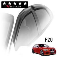 Дефлекторы на окна V-Star для BMW 1-F20 (5-дверей) 2011-...г.в.
