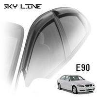 Дефлекторы на окна Sky Line для BMW 3-E90 (седан) 2005-2012 г.в.