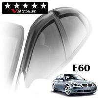 Дефлекторы на окна V-Star хромированный молгинг для BMW 5-E60 (седан) 2003-2010 г.в.