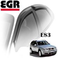 Дефлекторы на окна EGR для BMW X3 E83 2003-2010 г.в.