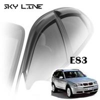 Дефлекторы на окна Sky Line для BMW X3 E83 2003-2010 г.в.
