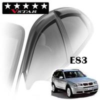 Дефлекторы на окна V-Star для BMW X3 E83 2003-2010 г.в.