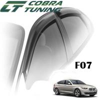 Дефлекторы на окна Cobra Tuning хромированный молдинг для BMW 5-F07 Gran Turismo VI 2013-...г.в.