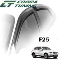 Дефлекторы на окна Cobra Tuning для BMW X3 II F25 2010-...г.в.