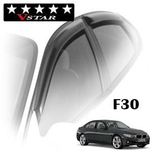 Дефлекторы на окна V-Star для BMW 3-F30 (седан) 2012-...г.в.