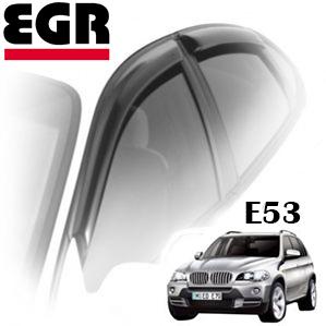 Дефлекторы на окна EGR для BMW X5 E53 2000-2006 г.в.