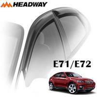 Дефлекторы на окна Headway хромированный молдинг для BMW X6 E71/E72 2008-...г.в.
