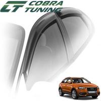 Дефлекторы на окна Cobra Tuning для Audi Q3 2011-...г.в.