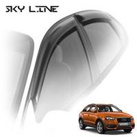 Дефлекторы на окна Sky Line для Audi Q3 2011-...г.в.